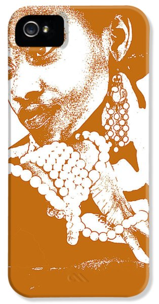 African iPhone 5 Cases - Aisha Brown iPhone 5 Case by Naxart Studio