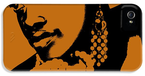 African iPhone 5 Cases - Aisha iPhone 5 Case by Naxart Studio