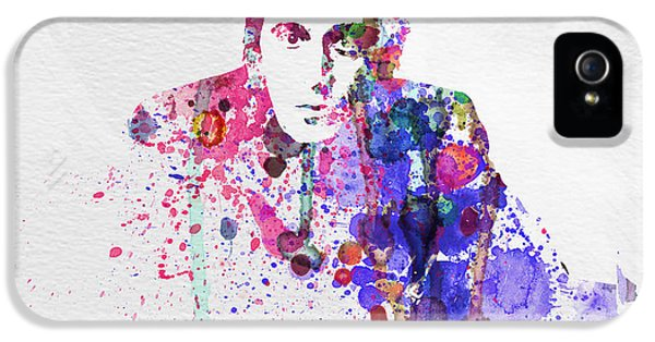 Scarface iPhone 5 Cases - Al Pacino iPhone 5 Case by Naxart Studio