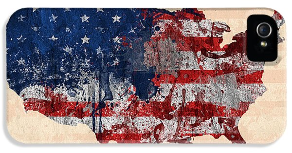 America IPhone 5 / 5s Case by Mark Ashkenazi