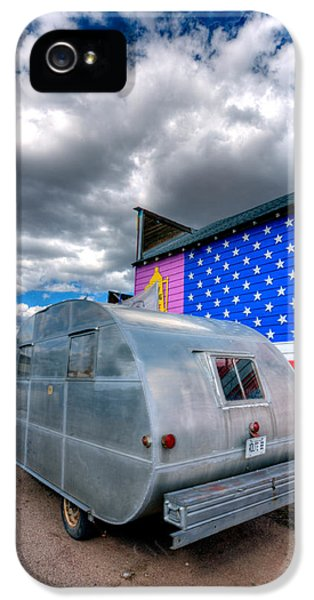 Trailer iPhone 5 Cases - Americana iPhone 5 Case by Peter Tellone