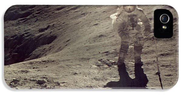 Anti-gravity iPhone 5 Cases - Apollo 16 iPhone 5 Case by Granger