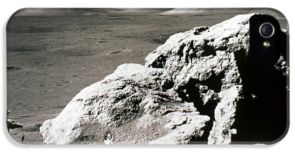 Anti-gravity iPhone 5 Cases - Apollo 17, December 1972: iPhone 5 Case by Granger
