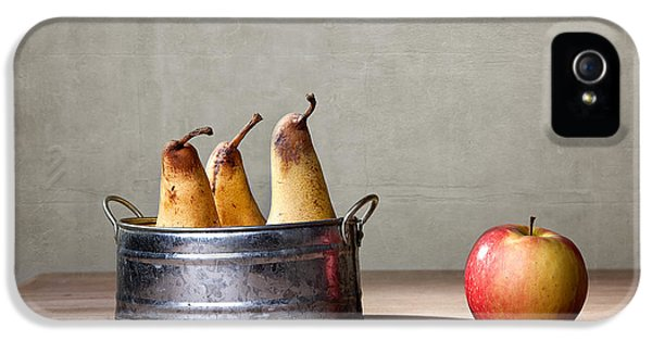 Apple And Pears 01 IPhone 5 / 5s Case by Nailia Schwarz