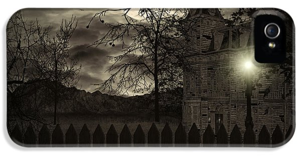 Haunted Houses iPhone 5 Cases - Arrival iPhone 5 Case by Lourry Legarde