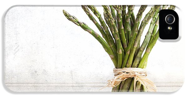 Grunge Style iPhone 5 Cases - Asparagus vintage iPhone 5 Case by Jane Rix