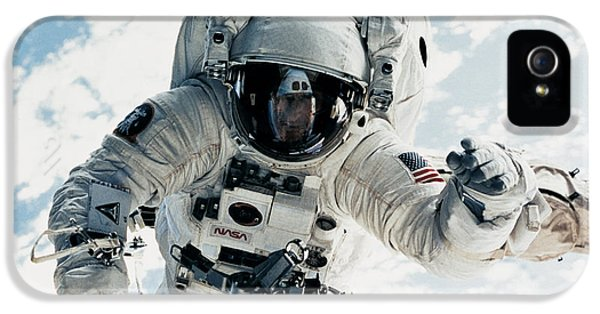 Astronomy iPhone 5 Cases - Astronaut iPhone 5 Case by Nasa