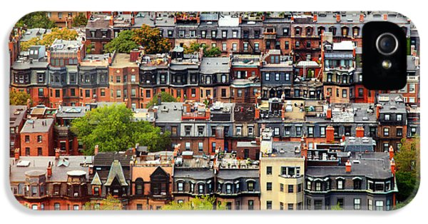 Bay iPhone 5 Cases - Back Bay iPhone 5 Case by Rick Berk