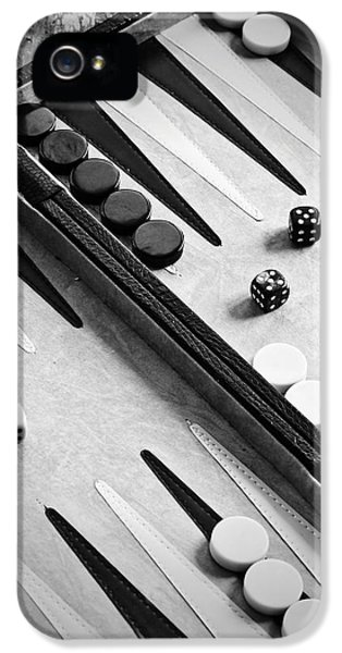 Strategy iPhone 5 Cases - Backgammon iPhone 5 Case by Joana Kruse
