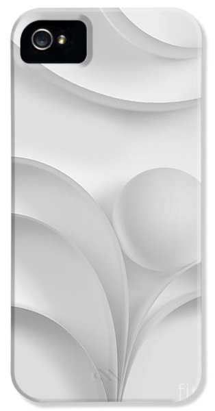 Curve iPhone 5 Cases - Ball and Curves 03 iPhone 5 Case by Nailia Schwarz