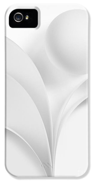 Curve iPhone 5 Cases - Ball and Curves 06 iPhone 5 Case by Nailia Schwarz