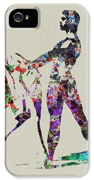Ballerina iPhone 5 Cases - Ballet Dance iPhone 5 Case by Naxart Studio