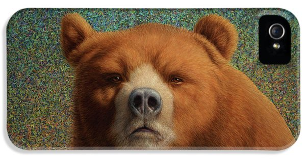 Popular iPhone 5 Cases - Bearish iPhone 5 Case by James W Johnson