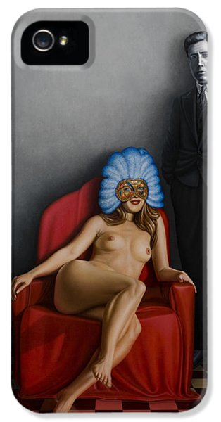 Mask iPhone 5 Cases - Beauty of the Carnival iPhone 5 Case by Horacio Cardozo