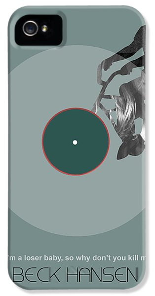 Composer iPhone 5 Cases - Beck Poster iPhone 5 Case by Naxart Studio
