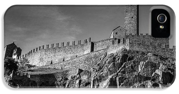 Castle iPhone 5 Cases - Bellinzona Switzerland Castelgrande iPhone 5 Case by Joana Kruse