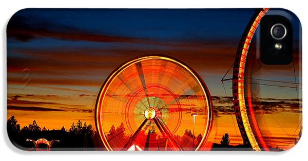 Big Wheels Keep On Turning IPhone 5 / 5s Case by Cheryl Young