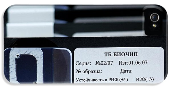 Automation iPhone 5 Cases - Biochip For Detection Of Tuberculosis iPhone 5 Case by Ria Novosti