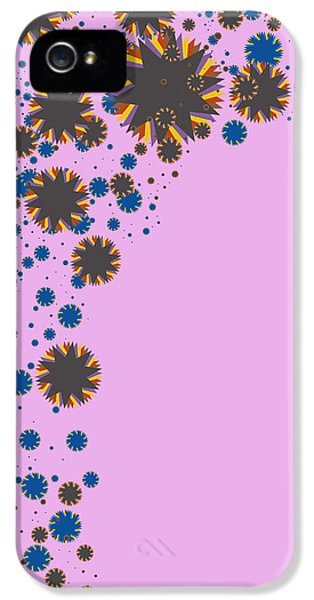 Components iPhone 5 Cases - Blades On Purple iPhone 5 Case by Atiketta Sangasaeng