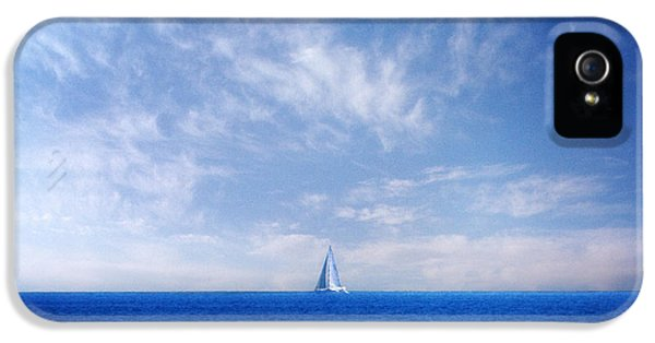 Background iPhone 5 Cases - Blue Mediterranean iPhone 5 Case by Stylianos Kleanthous