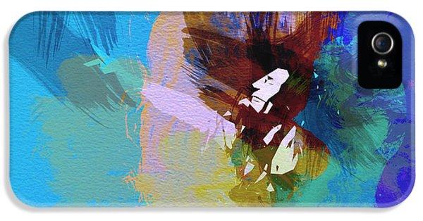 Bob Marley iPhone 5 Cases - Bob Marley 2 iPhone 5 Case by Naxart Studio
