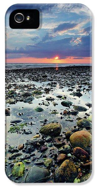 Massachusetts iPhone 5 Cases - Bound Brook Sunset II iPhone 5 Case by Rick Berk
