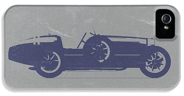 Bugatti Classic Car iPhone 5 Cases - BUGATTI Type 35 iPhone 5 Case by Naxart Studio