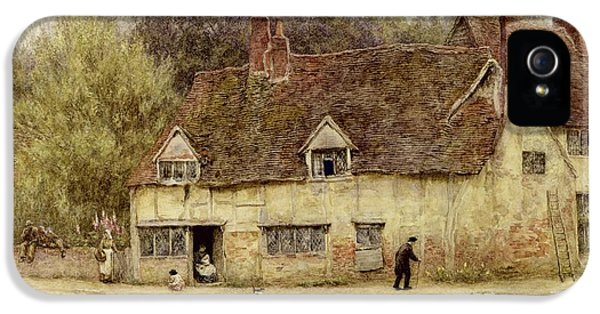 By The Old Cottage IPhone 5 / 5s Case by Helen Allingham