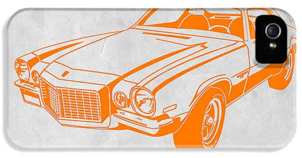 Muscle Car iPhone 5 Cases - Camaro iPhone 5 Case by Naxart Studio