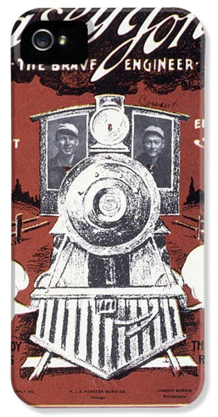 Casey iPhone 5 Cases - Casey Jones (1853-1900) iPhone 5 Case by Granger