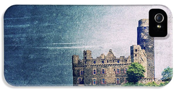 Castle iPhone 5 Cases - Castle Mouse iPhone 5 Case by Angela Doelling AD DESIGN Photo and PhotoArt