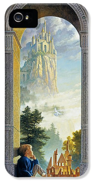 Build iPhone 5 Cases - Castles in the Sky iPhone 5 Case by Greg Olsen