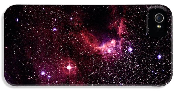 Astrophysics iPhone 5 Cases - Cave Nebulae iPhone 5 Case by Celestial Image Co.