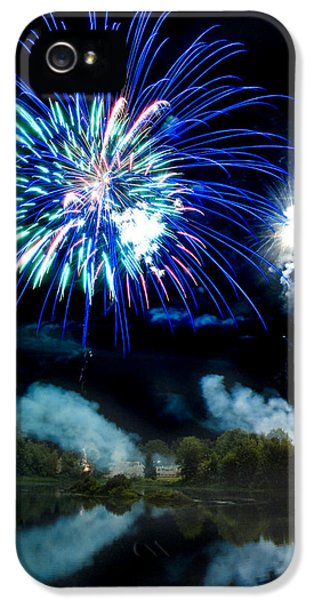 Firework iPhone 5 Cases - Celebration II iPhone 5 Case by Greg Fortier
