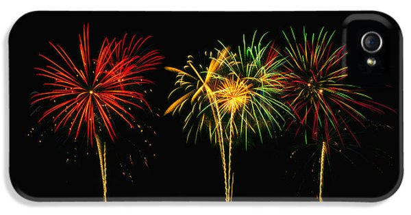 Fire Works iPhone 5 Cases - Celebration iPhone 5 Case by James Heckt