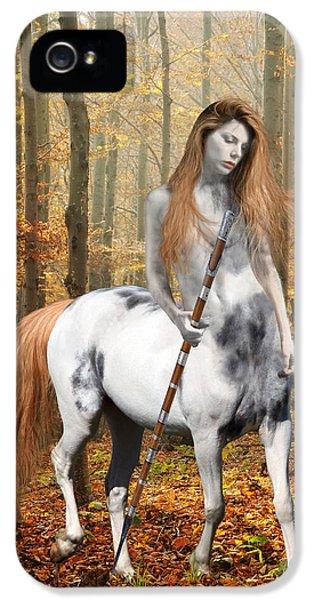 Centaur Series Autumn Walk IPhone 5 / 5s Case by Nikki Marie Smith