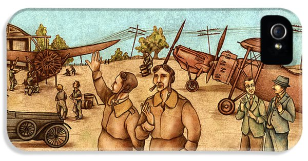 20 iPhone 5 Cases - Classical Planes 2 iPhone 5 Case by Autogiro Illustration
