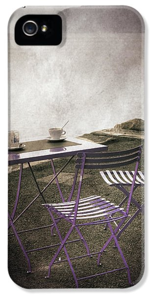 Lake iPhone 5 Cases - Coffee Table iPhone 5 Case by Joana Kruse