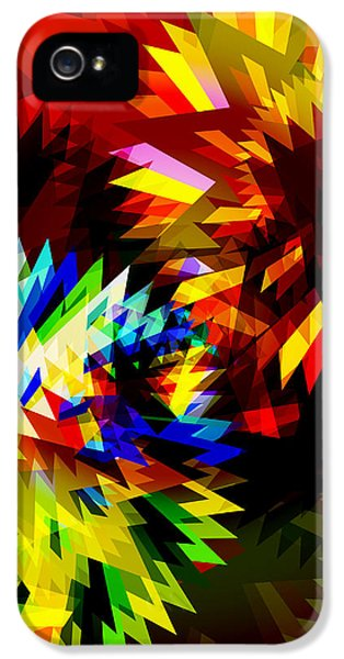Cooperation iPhone 5 Cases - Colorful Blade iPhone 5 Case by Atiketta Sangasaeng