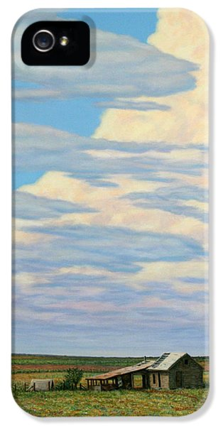 West iPhone 5 Cases - Come In iPhone 5 Case by James W Johnson