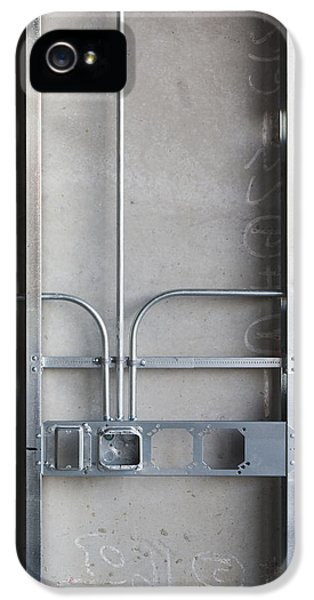 Electrical Component iPhone 5 Cases - Commercial Building Under Construction iPhone 5 Case by Don Mason