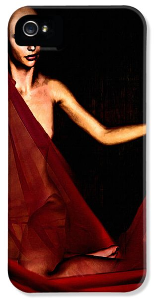 Artistic Nude iPhone 5 Cases - Conquerable Quest iPhone 5 Case by Lourry Legarde