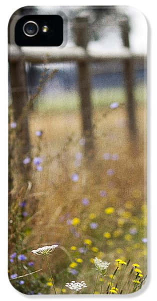 Gate iPhone 5 Cases - Country Fence iPhone 5 Case by Rebecca Cozart