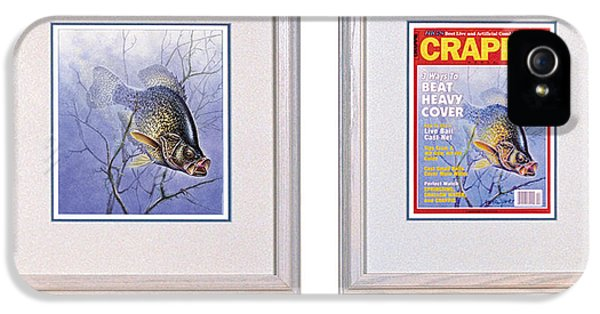 Crappie Magazine And Original IPhone 5 / 5s Case by JQ Licensing