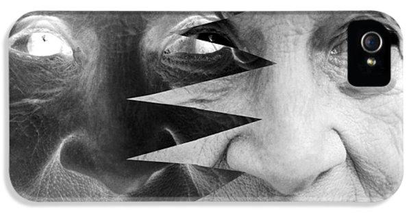 Dementia iPhone 5 Cases - Dementia, Conceptual Image iPhone 5 Case by Victor De Schwanberg