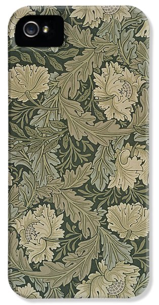 Arts And Crafts Movement iPhone 5 Cases - Design for Lea wallpaper iPhone 5 Case by William Morris