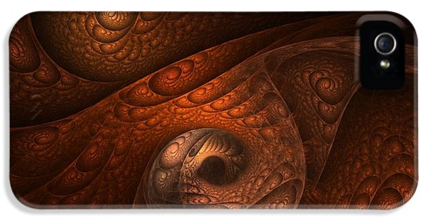 Abstract Digital Art iPhone 5 Cases - Developing Minotaur iPhone 5 Case by Lourry Legarde