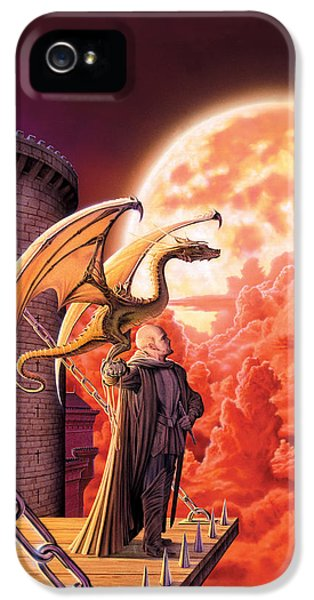 Fantasy iPhone 5 Cases - Dragon Lord iPhone 5 Case by The Dragon Chronicles - Robin Ko
