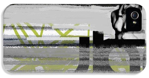 Expressive iPhone 5 Cases - Drama iPhone 5 Case by Naxart Studio