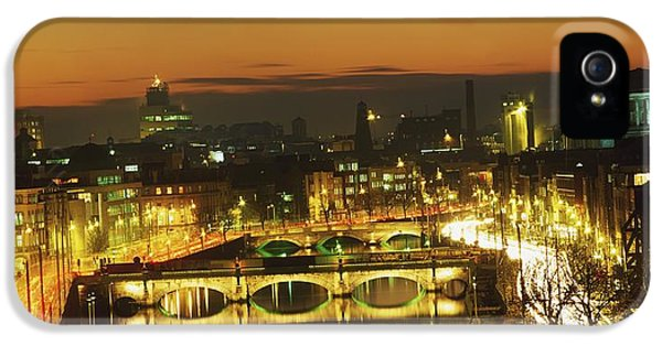 Colour Image iPhone 5 Cases - Dublin,co Dublin,irelandview Of The iPhone 5 Case by The Irish Image Collection
